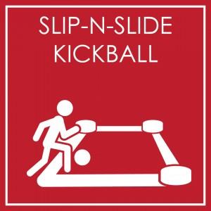 Slip-n-slide Kickball